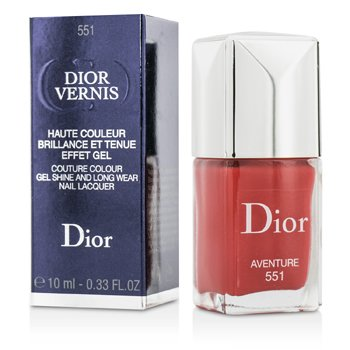 Christian Dior Dior Vernis Couture Colour Gel Shine & Long Wear Nail Lacquer - # 551 Aventure  10ml/0.33oz