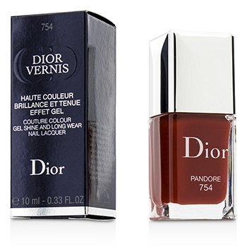 Christian Dior Dior Vernis Couture Colour Gel Shine & Long Wear Nail Lacquer - # 754 Pandore  10ml/0.33oz