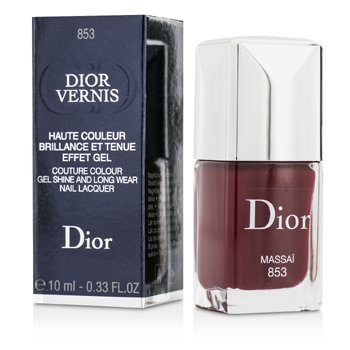 Christian Dior Dior Vernis Couture Esmalte Uñas Larga Duración Brillo Gel  - # 853 Massai  10ml/0.33oz