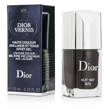 Christian Dior Dior Vernis Couture Colour Gel Shine & Long Wear Nail Lacquer - # 970 Nuit 1947  10ml/0.33oz