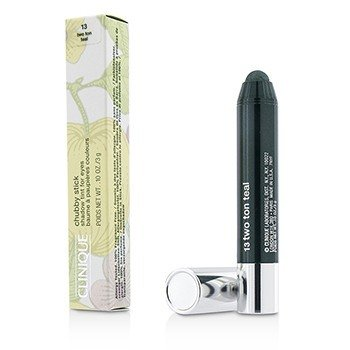 Clinique Chubby Stick Shadow Tinta para Ojos - # 13 Two Ton Teal  3g/0.1oz