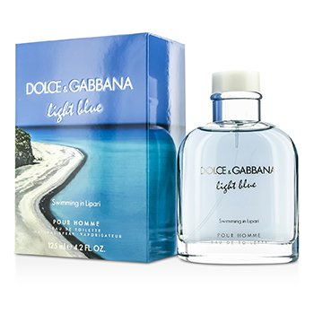 Dolce & Gabbana Light Blue Swimming In Lipari Eau De Toilette Spray (Edición Limitada)  125ml/4.2oz