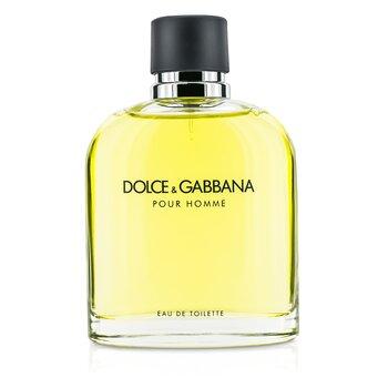 Dolce & Gabbana Pour Homme Eau De Toilette Spray (Versión Nueva)  200ml/6.7oz