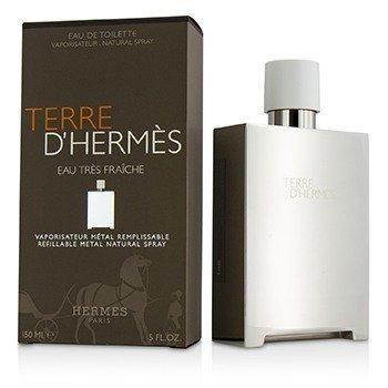 Hermes Terre D'Hermes Eau Tres Fraiche Eau De Toilette Spray Metal  150ml/5oz