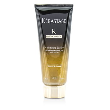Kerastase Chronolgiste Revitalizing Exfoliating Care - Scalp and Hair (Rinse-Out Pre-Shampoo)  200ml/6.8oz