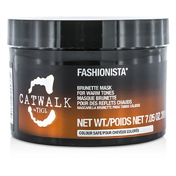 Tigi Catwalk Fashionista Brunette Mask (For Warm Tones)  200g/7.05oz
