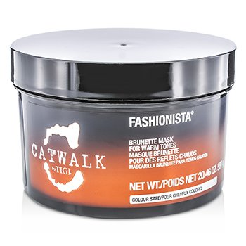 Tigi Catwalk Fashionista Brunette Mask (for varme toner)  580g/20.46oz