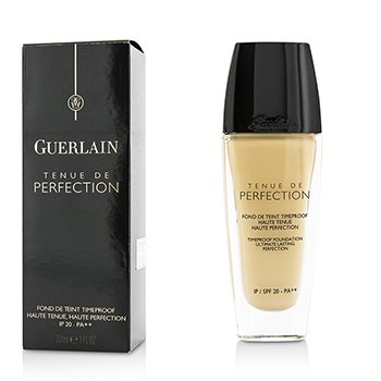 Guerlain Tenue De Perfection Timeproof Base SPF 20 - # 31 Ambre Pale  30ml/1oz