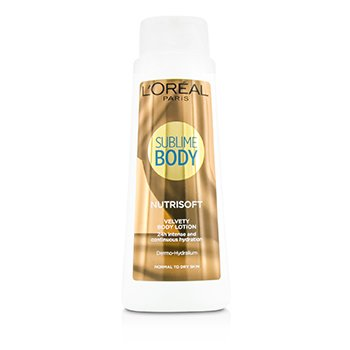 L'Oreal Sublime Body Nutrisoft Loci�n Corporal - Para Piel Normal a Seca  400ml/13.53oz