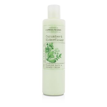 Caswell Massey Cucumber & Elderflower Crema Espuma Ducha & Baño  240ml/8oz