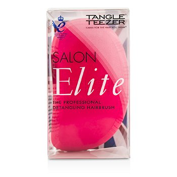 Tangle Teezer Salon Elite Professional Detangling Hair Brush - # Dolly Pink (For Wet & Dry Hair)  1pc