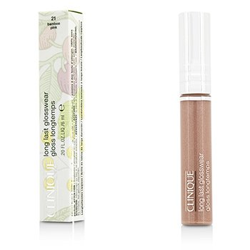 Clinique Long Last Glosswear - # 21 Bamboo Pink  6ml/0.2oz