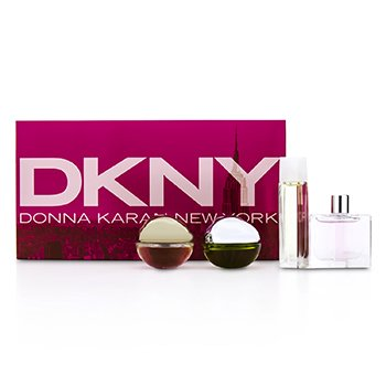 DKNY House Of DKNY Miniature: City, Be Delicious, Energizing, Golden Delicious  4pcs