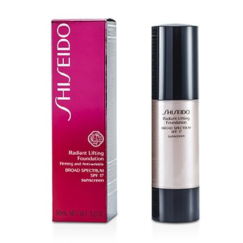Shiseido Radiant Lifting Foundation SPF 17 - # D20 Rich Brown  30ml/1.2oz