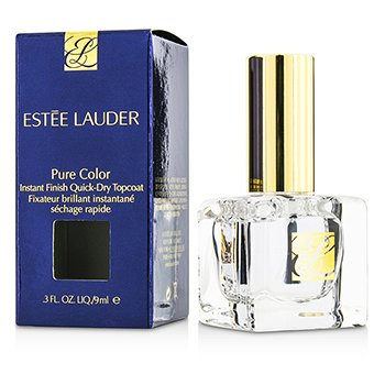 Estée Lauder Extra-brilho de secagem rápida Pure Color Instant Finish Quick Dry Topcoat  9ml/0.3oz