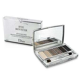 Christian Dior Eye Reviver Backstage Pros Illuminating Neutrals Paleta Ojos - # 001  9.4g/0.33oz