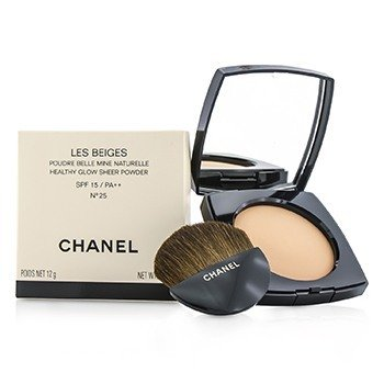 Chanel Les Beiges Healthy Glow Sheer Powder SPF 15 - No. 25  12g/0.42oz