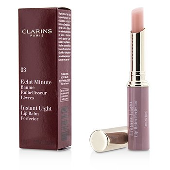 Clarins Eclat Minute Instant Light Lip Balm Perfector - # 03 My Pink  1.8g/0.06oz