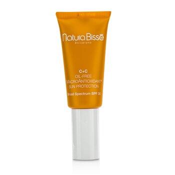 Natura Bisse C+C  Protección Solar Macro Antioxidante Libre de Aceite SPF 30  30ml/1oz