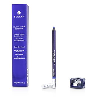 By Terry Crayon Khol Terrybly Color Eye Pencil (Waterproof Formula) - # 14 Neo Indigo  1.2g/0.04oz