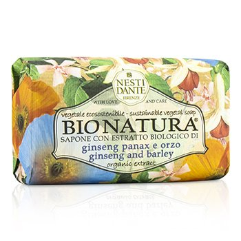 Nesti Dante Bio Natura Sustainable Vegetal Soap - Ginseng & Barley  250g/8.8oz