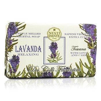 Nesti Dante Dei Colli Florentini Triple Milled Vegetal Soap - Tuscan Lavender - Sabun Mandi  250g/8.8oz
