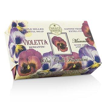Nesti Dante Dei Colli Florentini Triple Milled Vegetal Soap - Sweet Violet - Sabun Mandi  250g/8.8oz