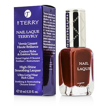 By Terry Nail Laque Terrybly High Shine Smoothing Lacquer - # 8 Fire Game  10ml/0.33oz