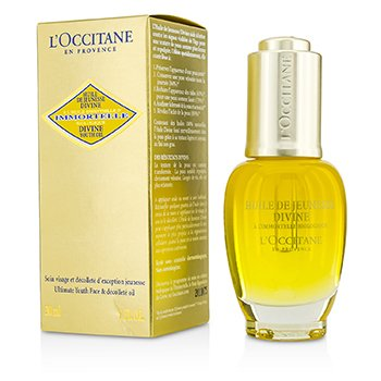 L'Occitane Immortelle Divine Youth Oil - Ultimate Youth Face & Decollete Oil - Perawatan Wajah  30ml/1oz
