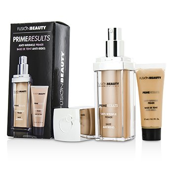 Fusion Beauty Set Anti Arrugas Prime Results : 1x  Primer Anti Arrugas + 1x Mini Primer Anti Arrugas  2pcs