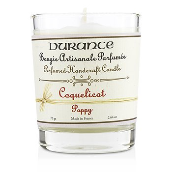Durance Perfumed Handcraft Candle - Poppy  75g/2.64oz