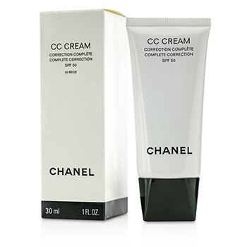 Chanel Cremă CC Complet Corectoare SPF 50/PA++++ # 30 Bej  30ml/1oz