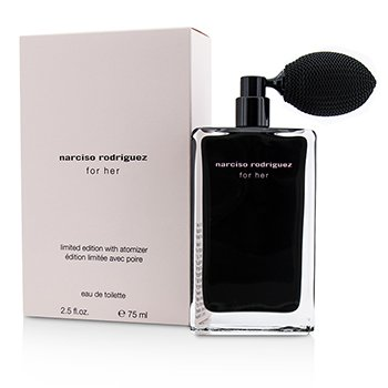 Narciso Rodriguez For Her Eau De Toilette with Atomizer (Limited Edition)  75ml/2.5oz