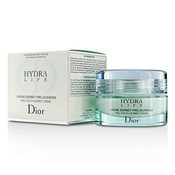 Christian Dior Hydra Life Pro-Youth Sorbet Creme (Piel Normal a Mixta) (Nueva Fórmula)  50ml/1.7oz