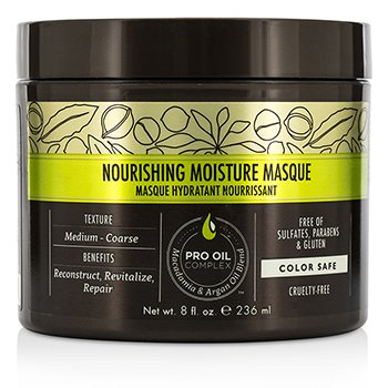 Macadamia Natural Oil Professional Nourishing Moisture Mascarilla  236ml/8oz