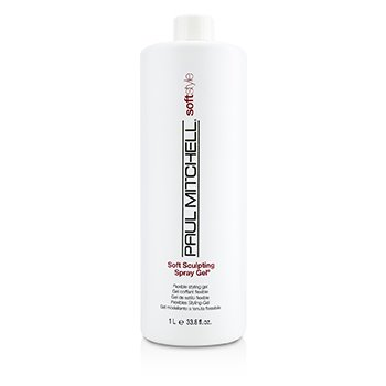 Paul Mitchell Soft Style Soft Sculpting Spray Gel (Gel Estilizador Flexible)  1000ml/33.8oz