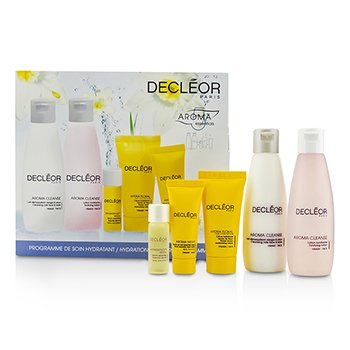 Decleor Hydration Starter Kit: Cleansing Milk 75ml, Tonifying Lotion 75ml, HydraFloral Crm 15ml, Neroli Serum 5ml, Neroil Balm 5ml  5pcs