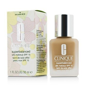 Clinique Superbalanced Silk Makeup SPF 15 - # 14 Silk Suede (M-N)  30ml/1oz
