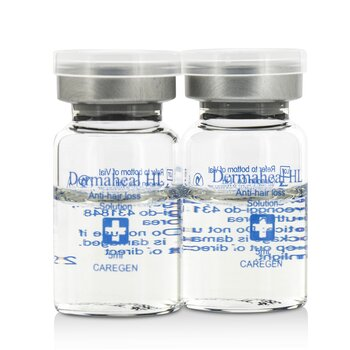 Dermaheal HL Anti-Hair Loss Solution (biologisk, sterilisert løsning)  10x5ml/0.17oz