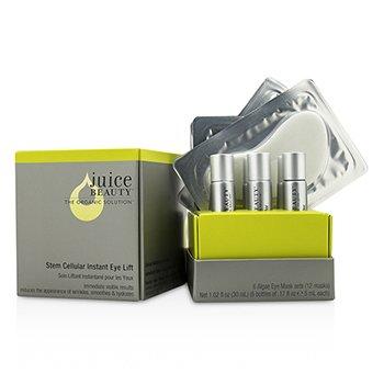 Juice Beauty Stem Cellular Ojos: Mascarilla Alga para Ojos + Activante (Caja Ligeramente Dañada)  12pcs