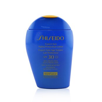 Shiseido Expert Sun Aging Protection Lotion WetForce For Face & Body SPF 30  100ml/3.4oz