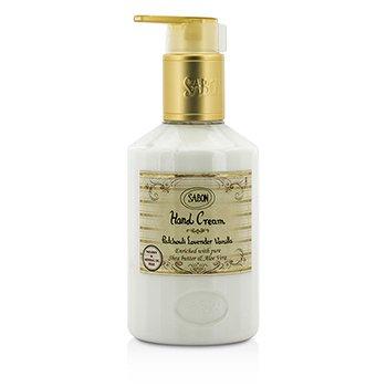 Sabon Hand Cream - Patchouli Lavender Vanilla (With Pump)  200ml/7oz