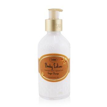 Sabon Body Lotion - Ginger Orange (With Pump)  200ml/7oz