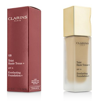 Clarins Everlasting Foundation+ SPF15 - # 109 Wheat  30ml/1.1oz