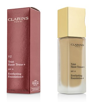 Clarins Everlasting Foundation+ SPF15 - # 112 Amber  30ml/1.1oz