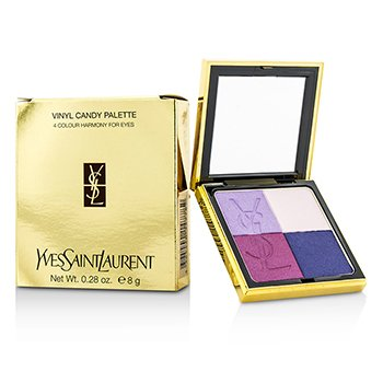 Yves Saint Laurent Vinyl Candy Palette (4 Colores para Ojos)  8g/0.28oz