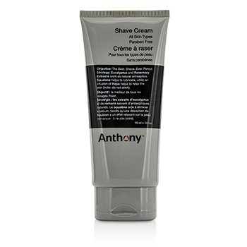 Anthony Logistics For Men Crema De Afeitar  90ml/3oz