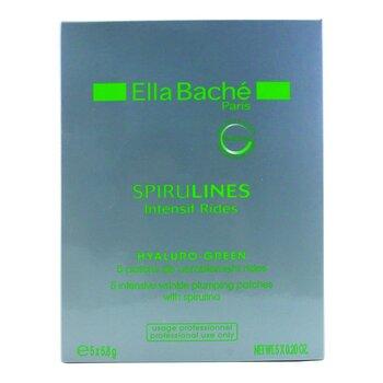 Ella Bache Spirulines Intensif Rides Hyaluro-Green  Parches Intensivos Arrugas (Producto de Salón)  5x5.8g/0.2oz
