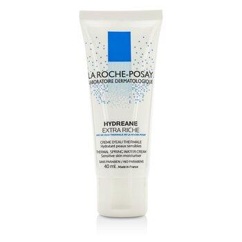 La Roche Posay Hydreane Crema de Agua Termal Hidratante de Piel Sensible - Extra Rica  40ml/1.35oz