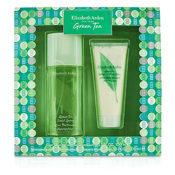 Elizabeth Arden Green Tea Coffret: Eau Parfumee Spray 100ml/3.3oz + Body Lotion 100ml/3.3oz  2pcs